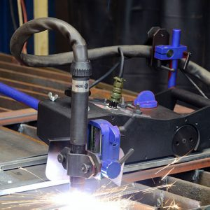 CARRIAGE GAS CUTTING